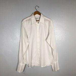 YSL Yves Saint Laurent PourHomme DressShirt- 43/17